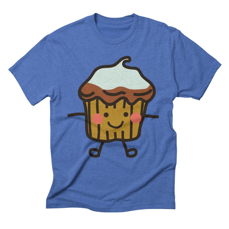 Summer Cupcake Men's Triblend T-Shirt by libedlulo