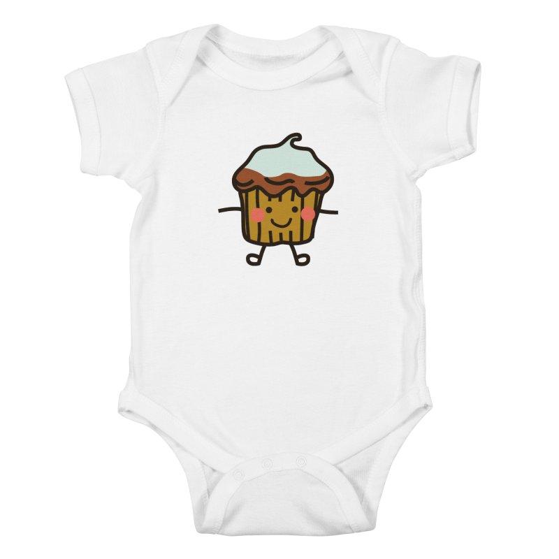 Summer Cupcake Kids Baby Bodysuit by libedlulo