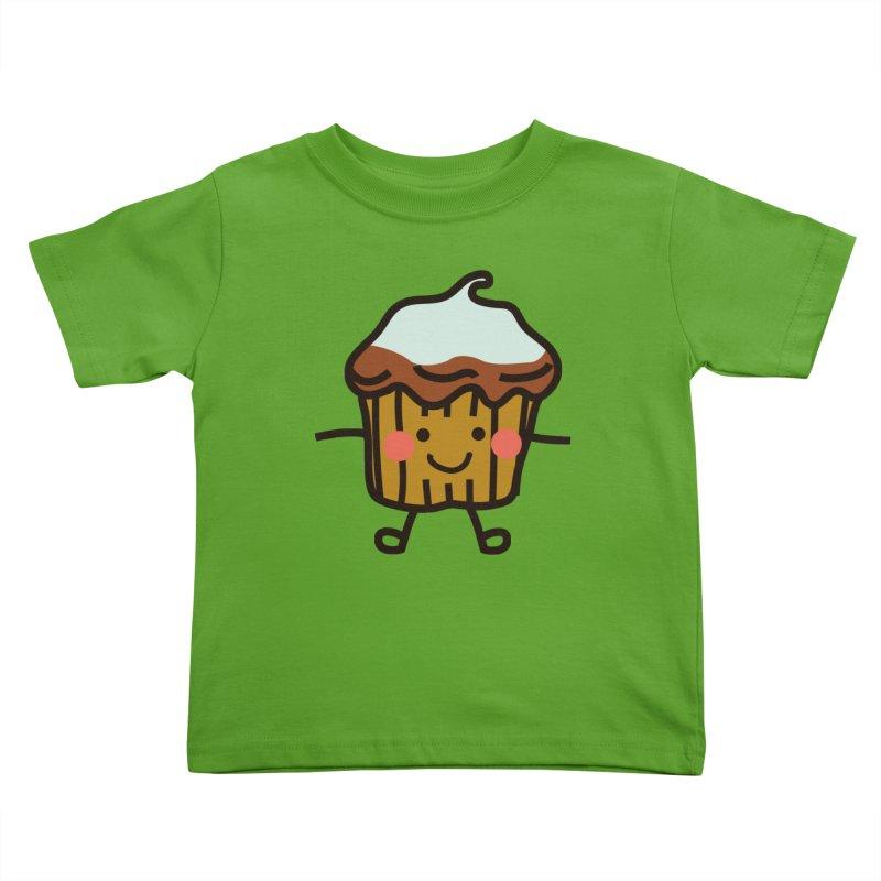 Summer Cupcake Kids Toddler T-Shirt by libedlulo