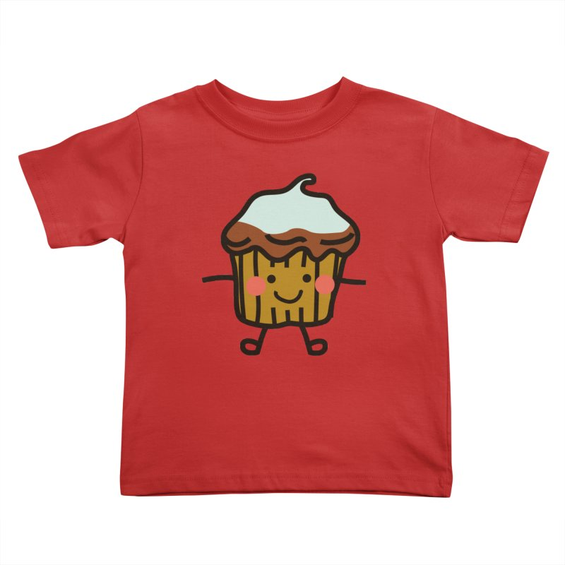 Summer Cupcake Kids Toddler T-Shirt by libedlulo
