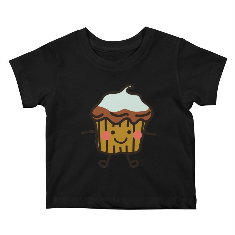 Summer Cupcake Kids Baby T-Shirt by libedlulo