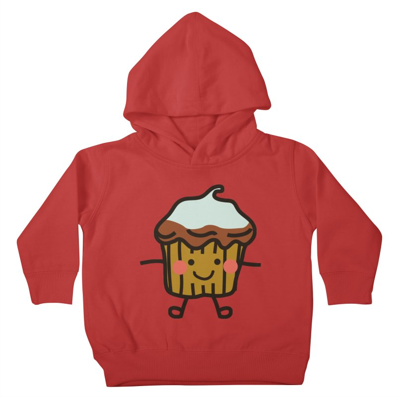 Summer Cupcake Kids Toddler Pullover Hoody by libedlulo