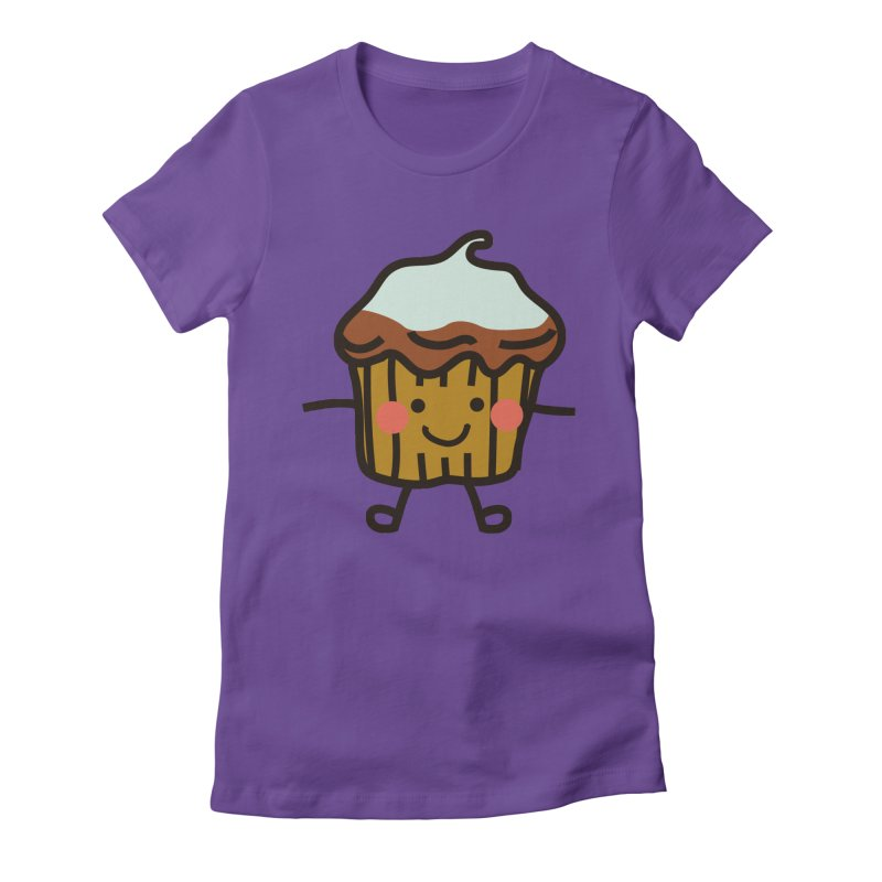 Summer Cupcake Women's T-Shirt by libedlulo