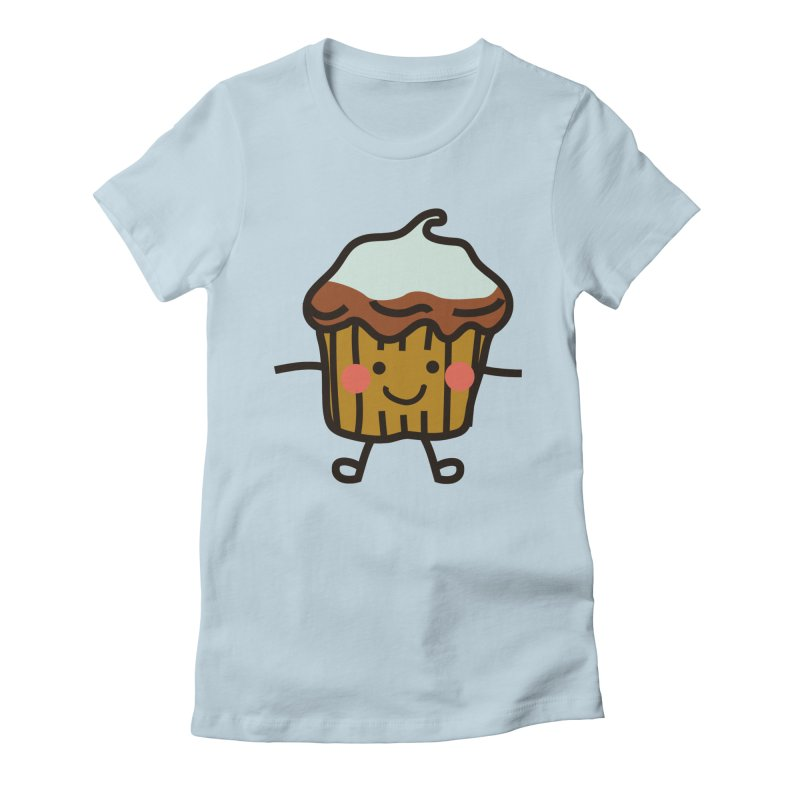 Summer Cupcake Women's T-Shirt by libedlulo