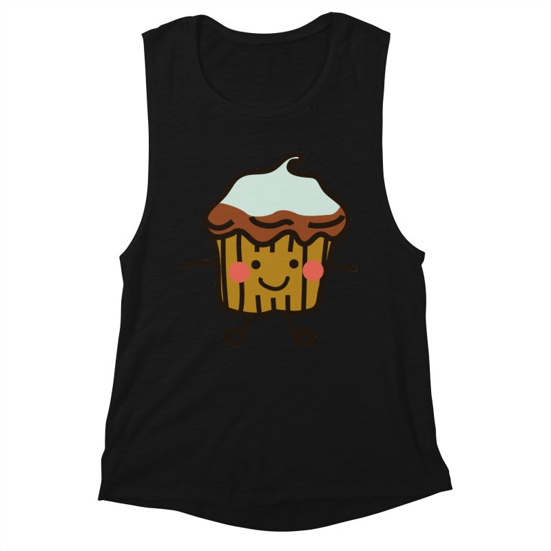 Summer Cupcake Women's Muscle Tank by libedlulo