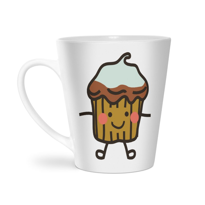 Summer Cupcake Accessories Latte Mug by libedlulo
