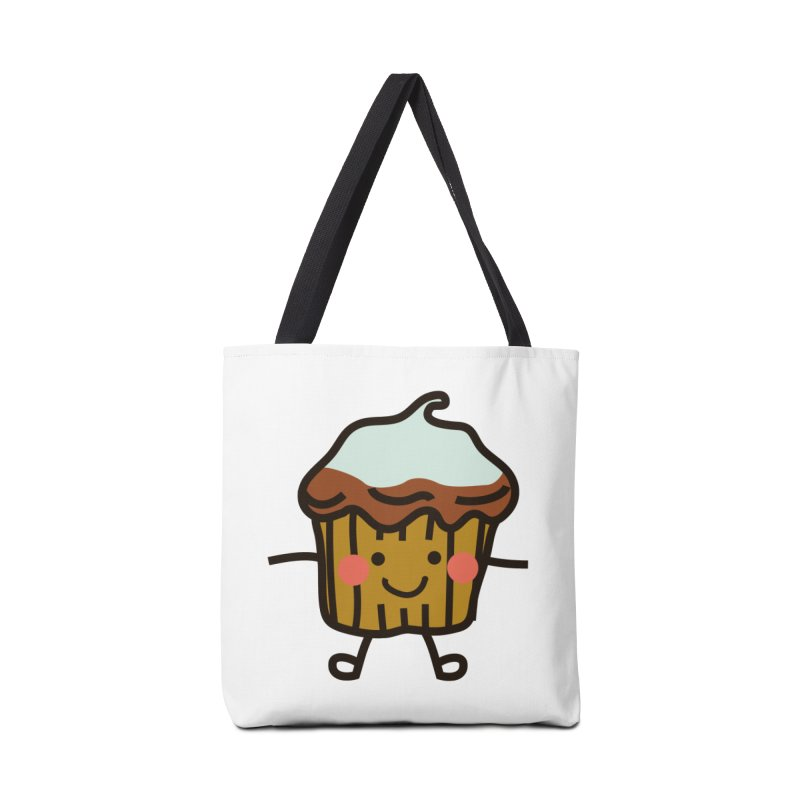 Summer Cupcake Accessories Tote Bag Bag by libedlulo