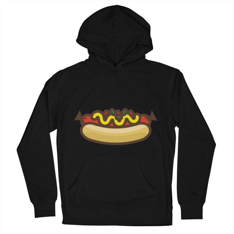 Summer Hotdog Women's French Terry Pullover Hoody by libedlulo
