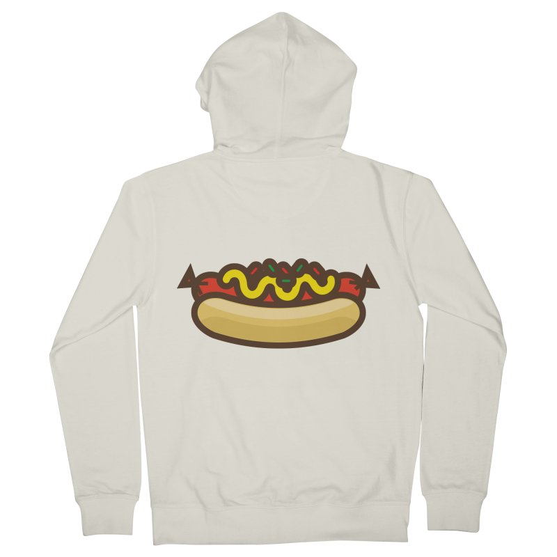 Summer Hotdog Women's French Terry Zip-Up Hoody by libedlulo