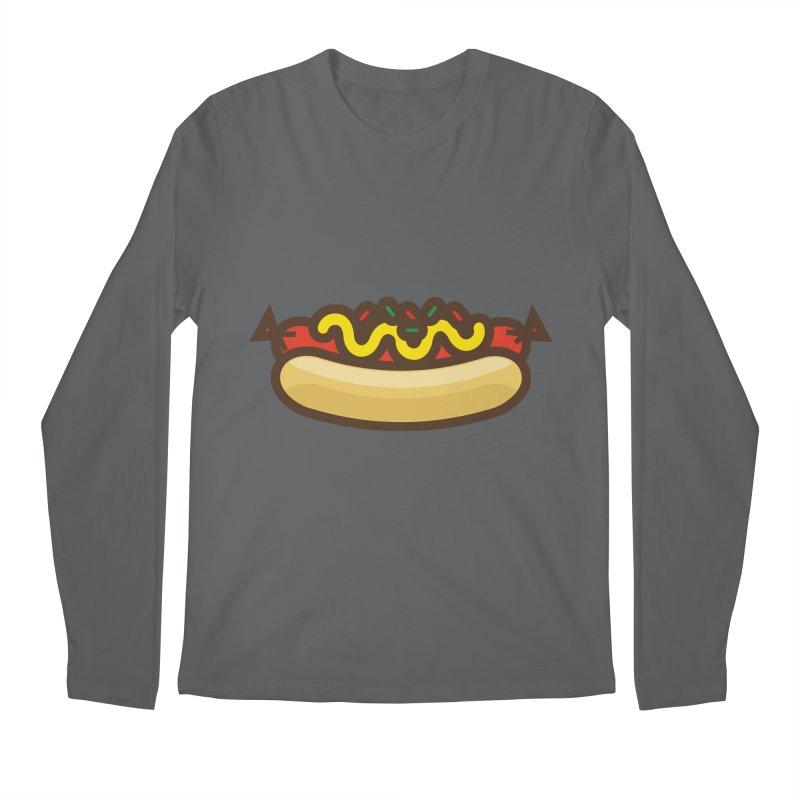 Summer Hotdog Men's Regular Longsleeve T-Shirt by libedlulo
