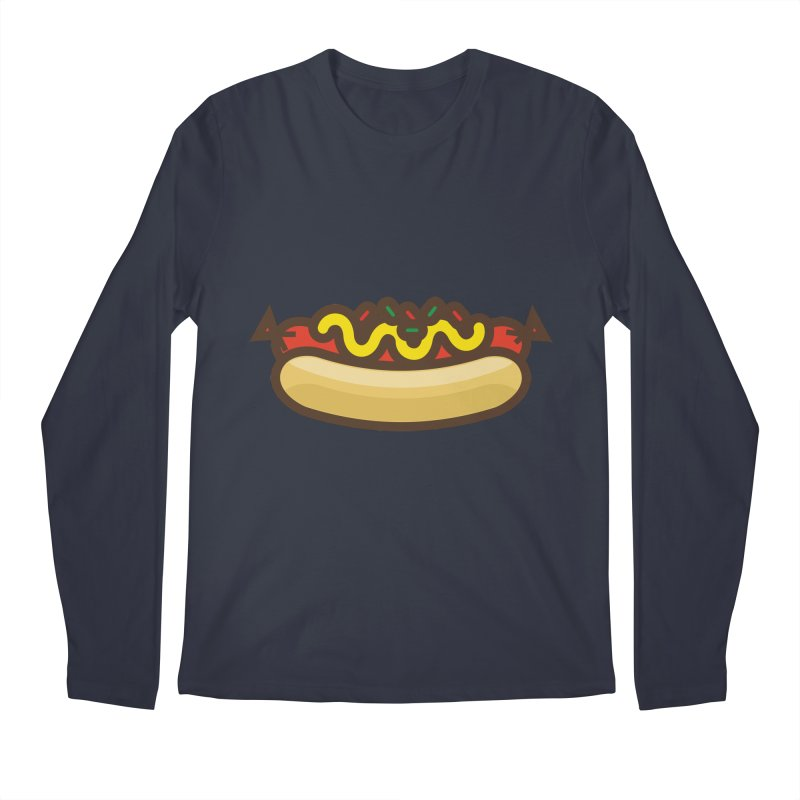 Summer Hotdog Men's Regular Longsleeve T-Shirt by libedlulo