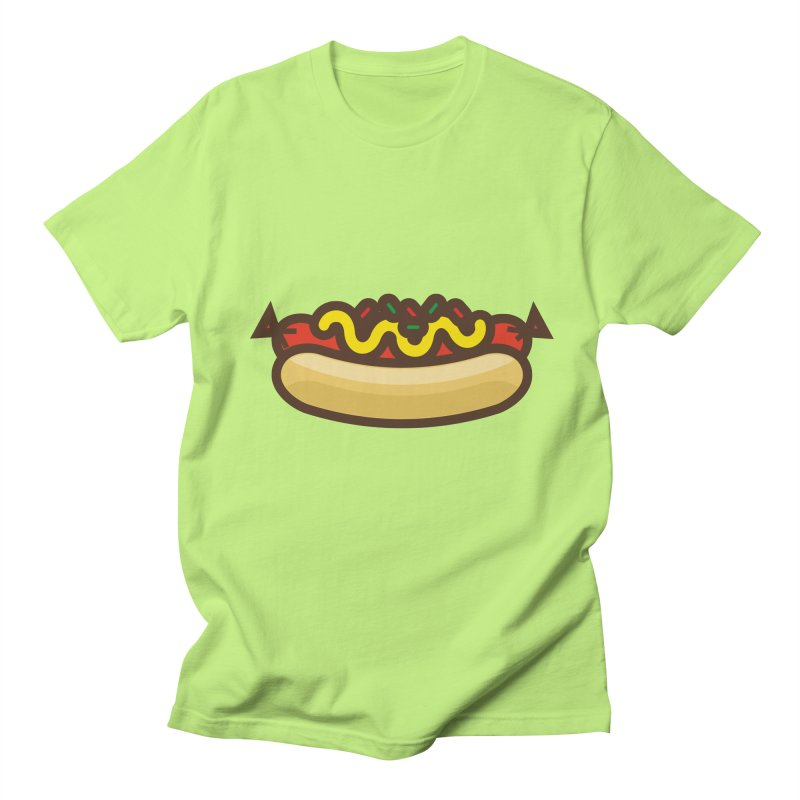 Summer Hotdog Men's Regular T-Shirt by libedlulo