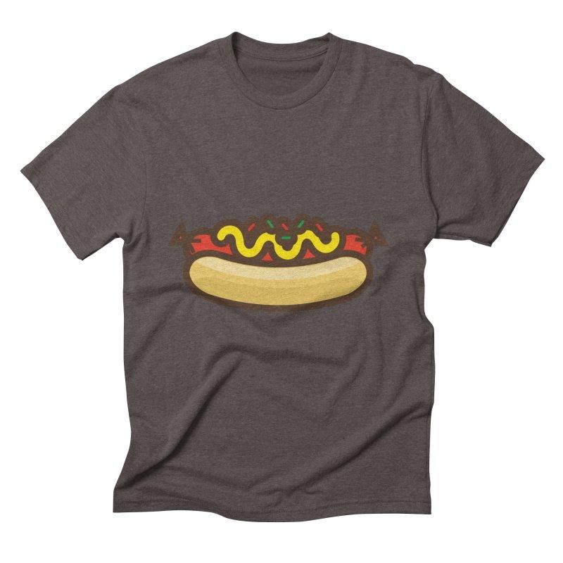Summer Hotdog Men's Triblend T-Shirt by libedlulo