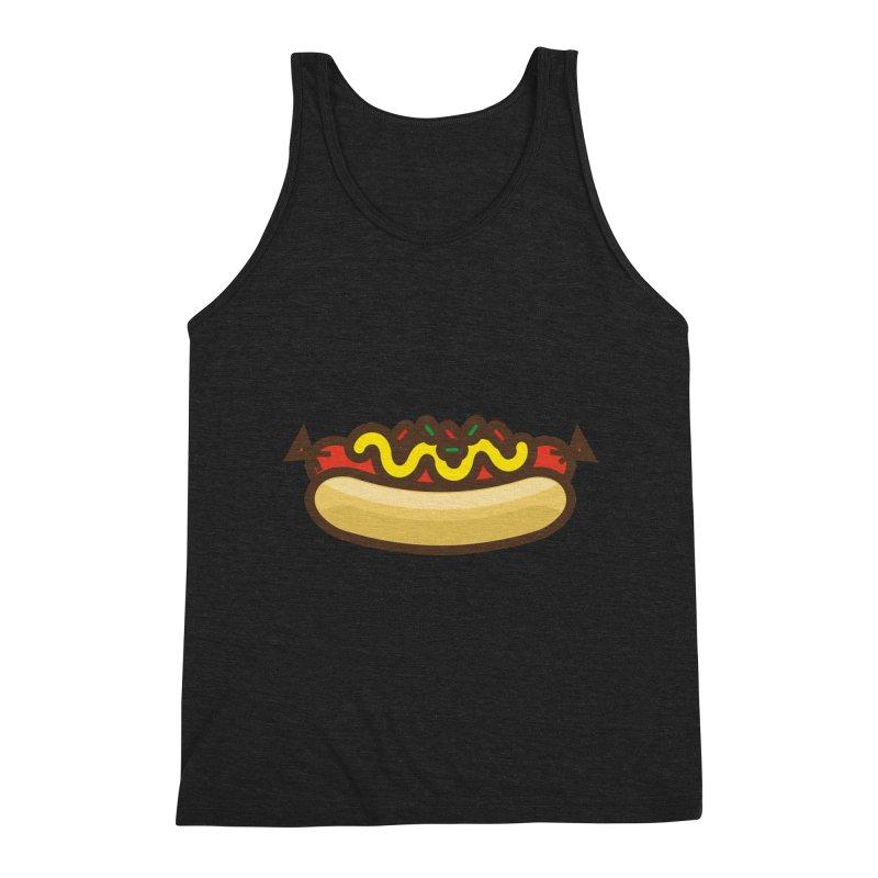 Summer Hotdog Men's Tank by libedlulo