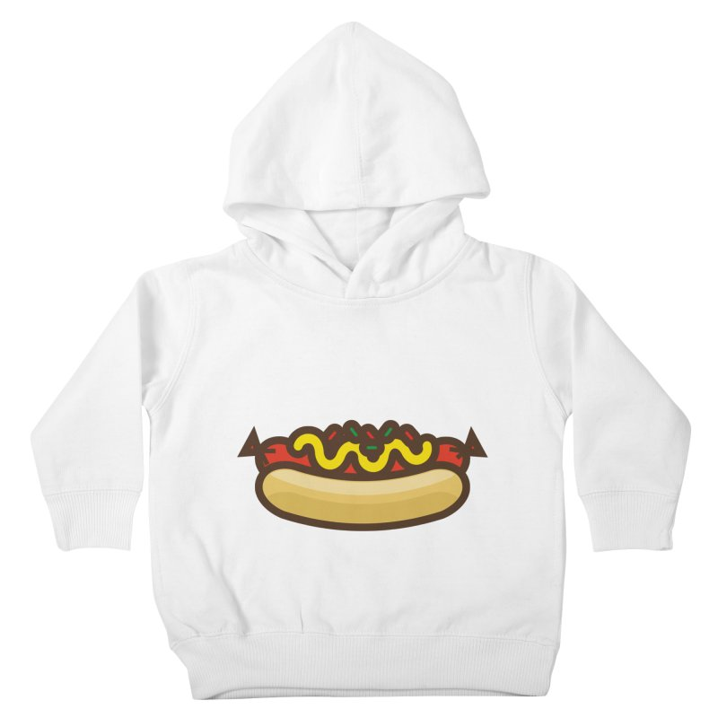 Summer Hotdog Kids Toddler Pullover Hoody by libedlulo