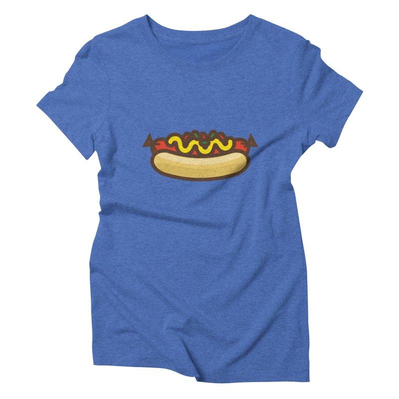 Summer Hotdog Women's Triblend T-Shirt by libedlulo