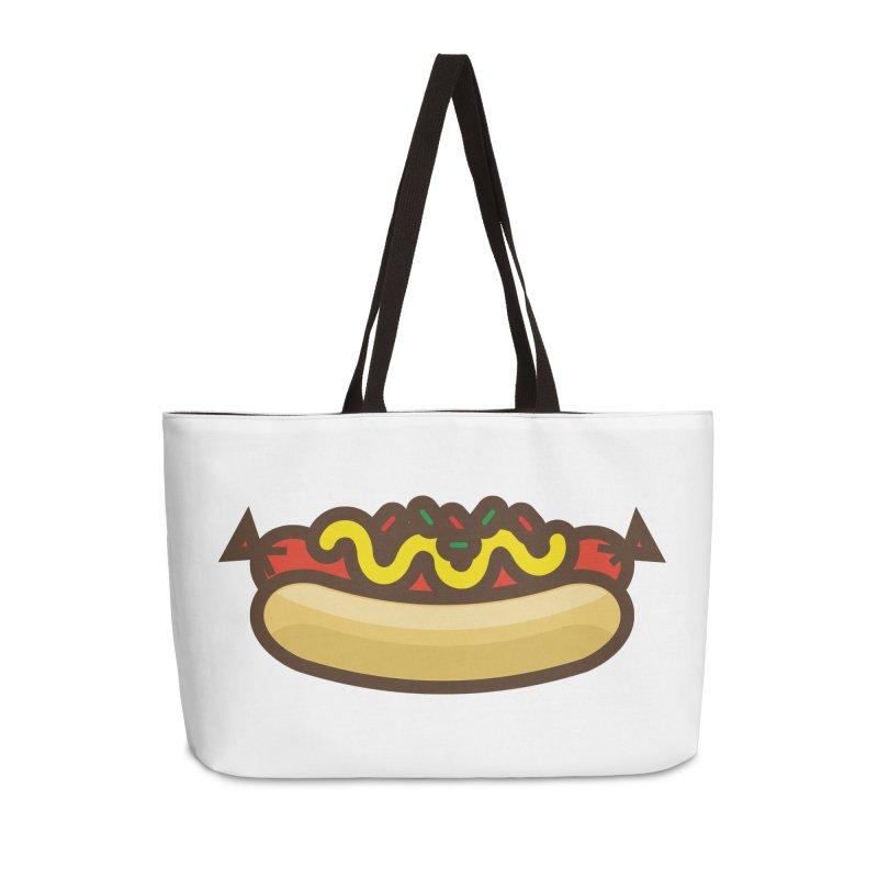 Summer Hotdog Accessories Bag by libedlulo
