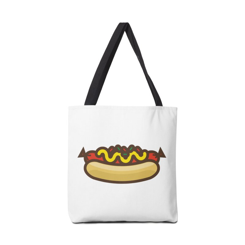 Summer Hotdog Accessories Tote Bag Bag by libedlulo