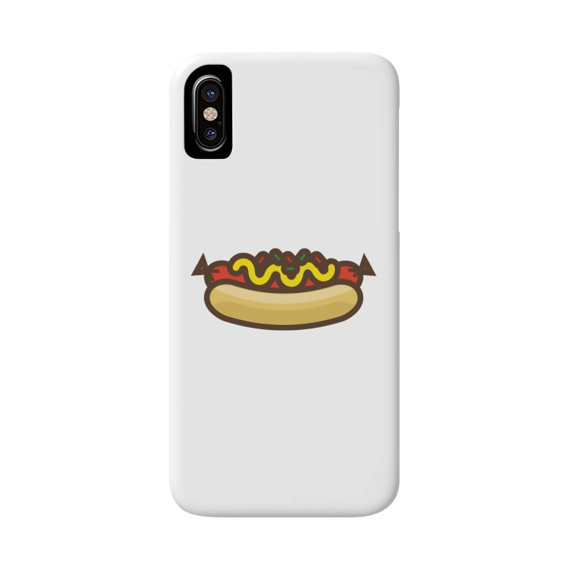 Summer Hotdog Accessories Phone Case by libedlulo