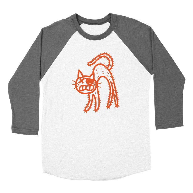 Pirate Cat Women's Longsleeve T-Shirt by libedlulo
