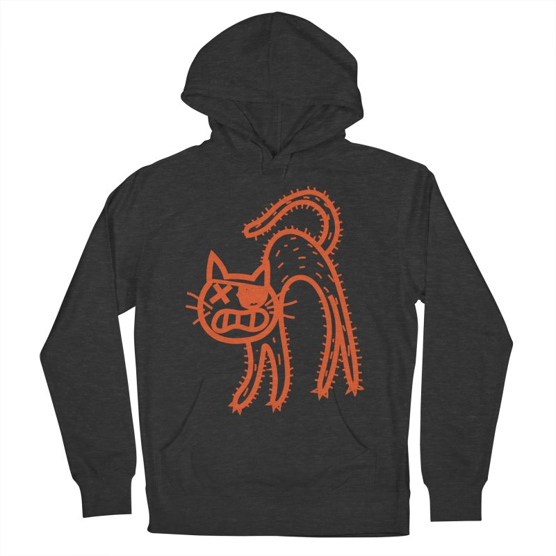 Pirate Cat Women's French Terry Pullover Hoody by libedlulo