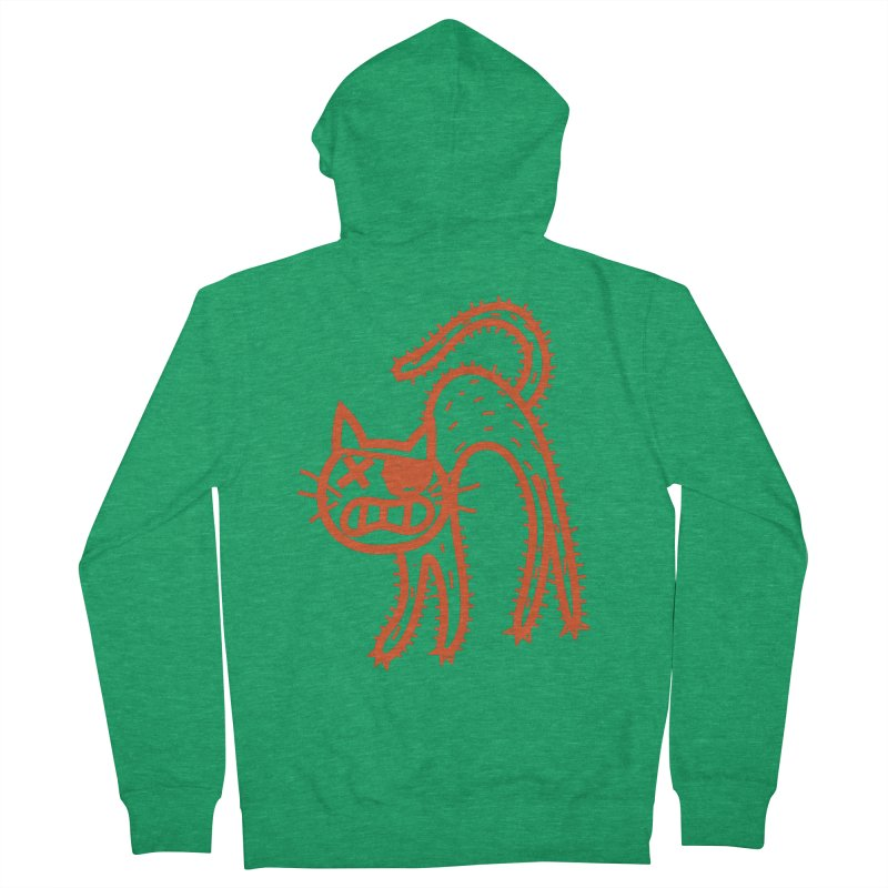 Pirate Cat Women's Zip-Up Hoody by libedlulo