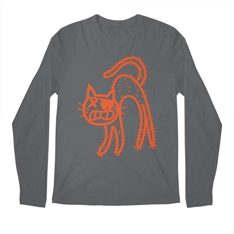 Pirate Cat Men's Regular Longsleeve T-Shirt by libedlulo