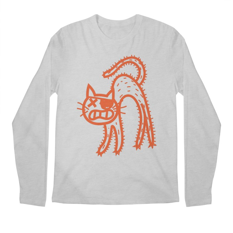 Pirate Cat Men's Regular Longsleeve T-Shirt by libedlulo