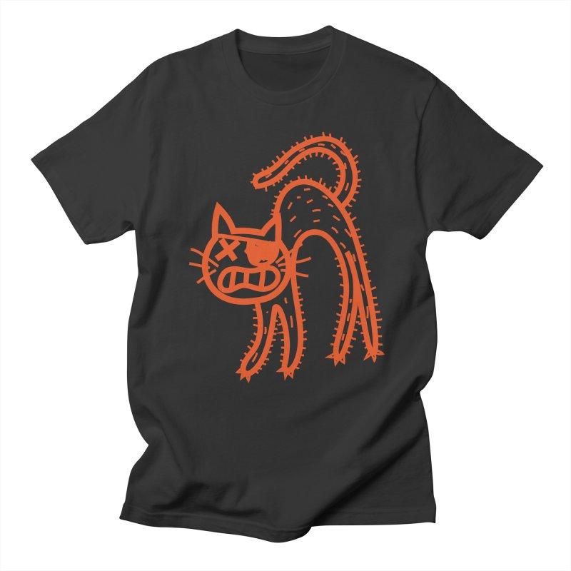 Pirate Cat Men's Regular T-Shirt by libedlulo