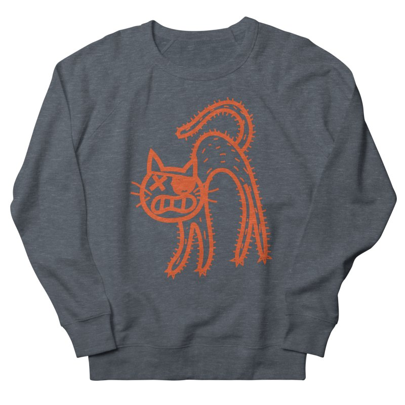 Pirate Cat Women's French Terry Sweatshirt by libedlulo