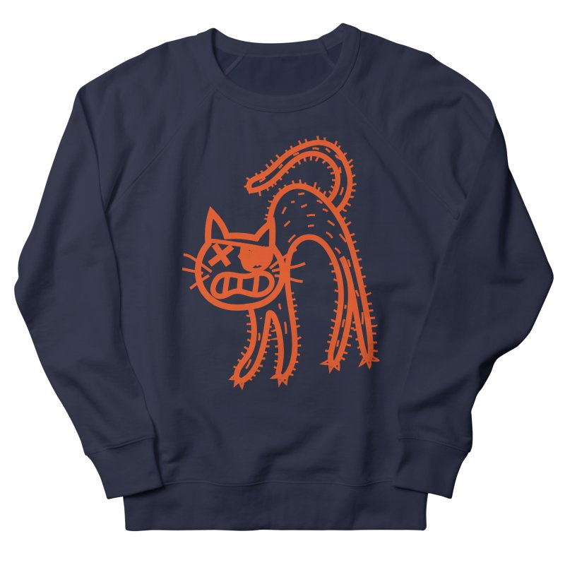 Pirate Cat Men's French Terry Sweatshirt by libedlulo
