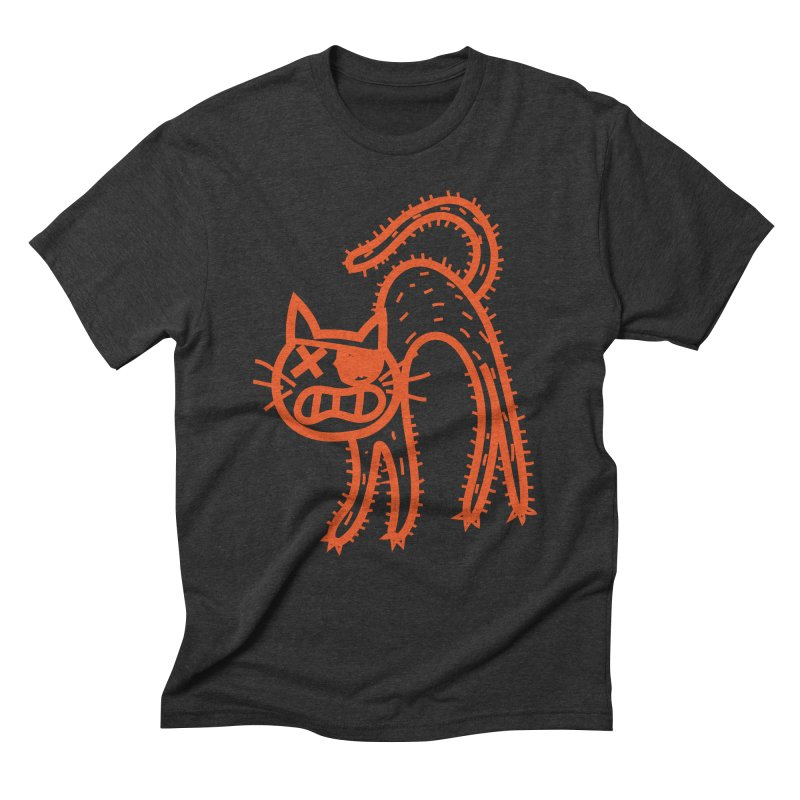 Pirate Cat Men's Triblend T-Shirt by libedlulo