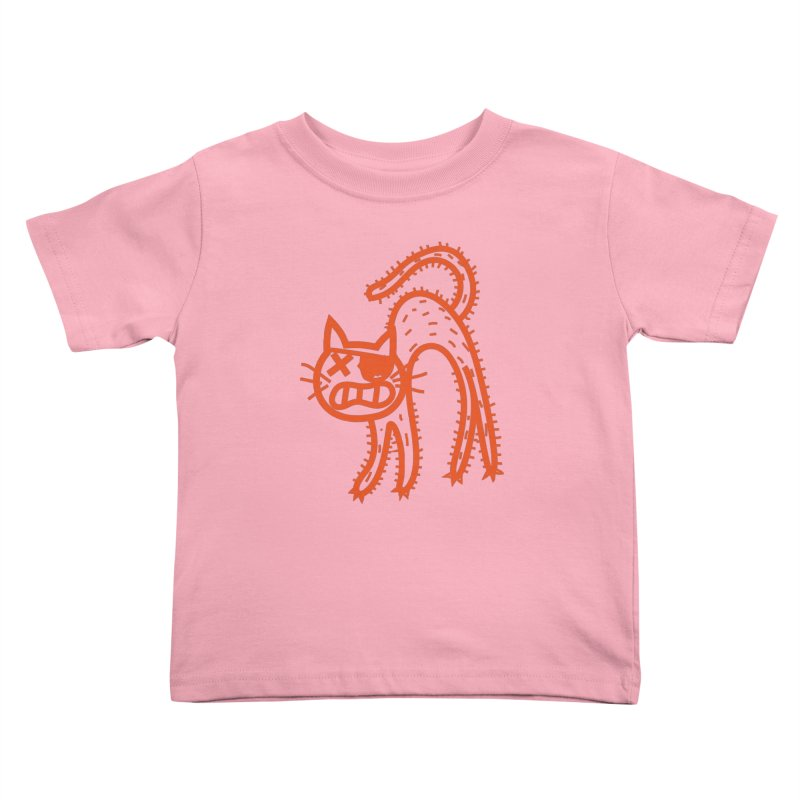Pirate Cat Kids Toddler T-Shirt by libedlulo