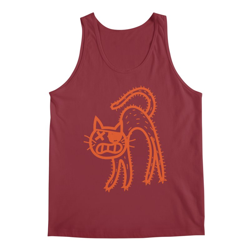 Pirate Cat Men's Tank by libedlulo