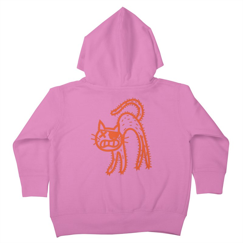 Pirate Cat Kids Toddler Zip-Up Hoody by libedlulo