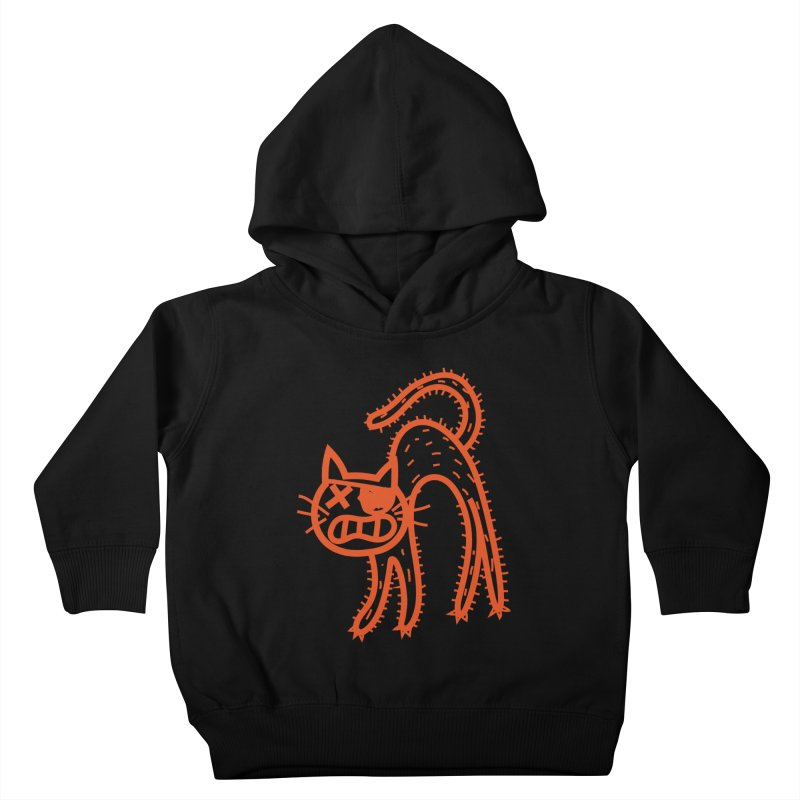 Pirate Cat Kids Toddler Pullover Hoody by libedlulo