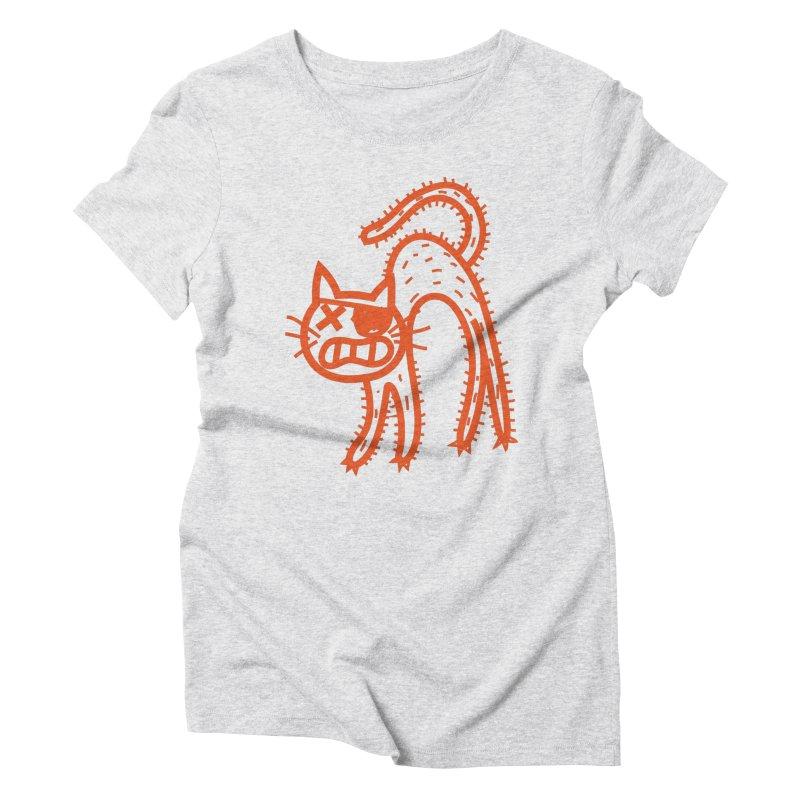 Pirate Cat Women's T-Shirt by libedlulo