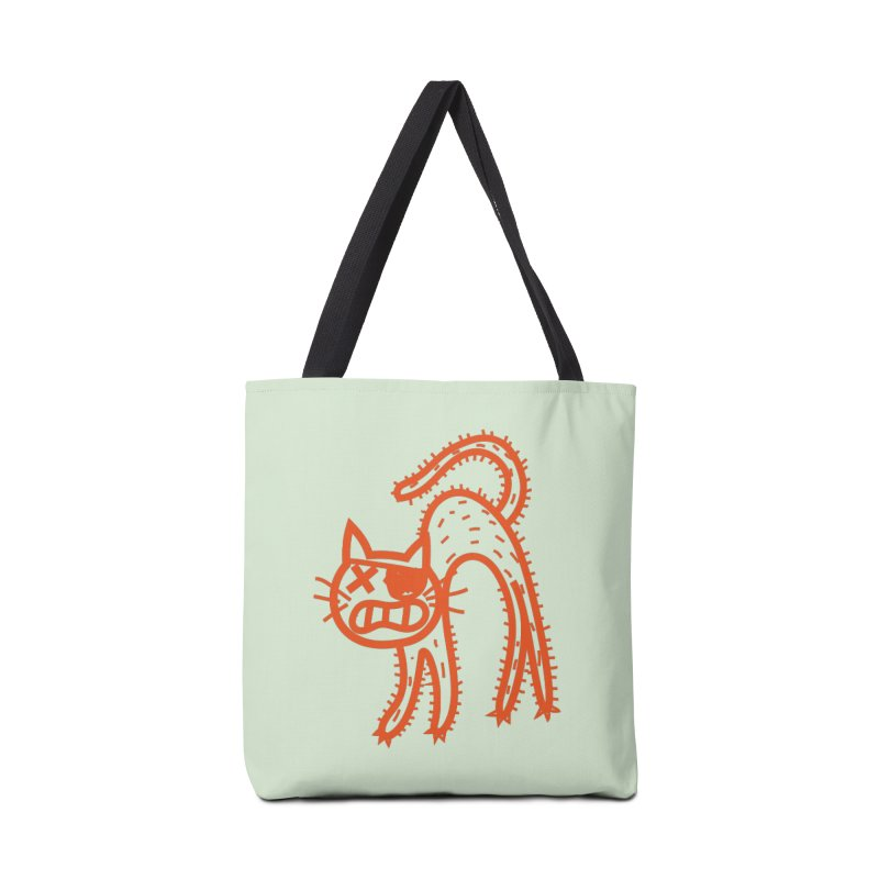 Pirate Cat Accessories Tote Bag Bag by libedlulo