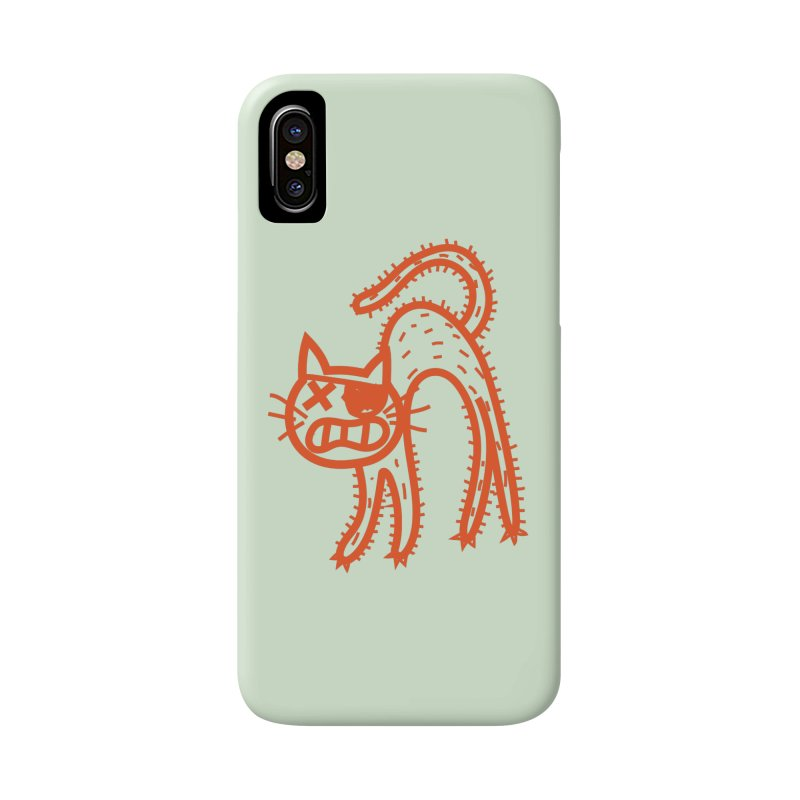 Pirate Cat Accessories Phone Case by libedlulo