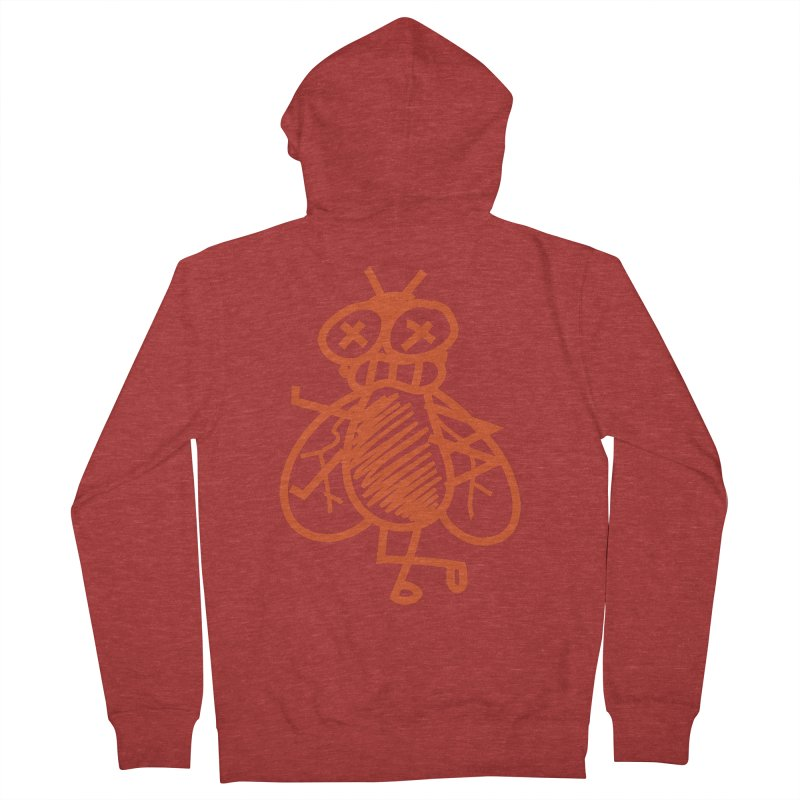 The Fly Women's French Terry Zip-Up Hoody by libedlulo