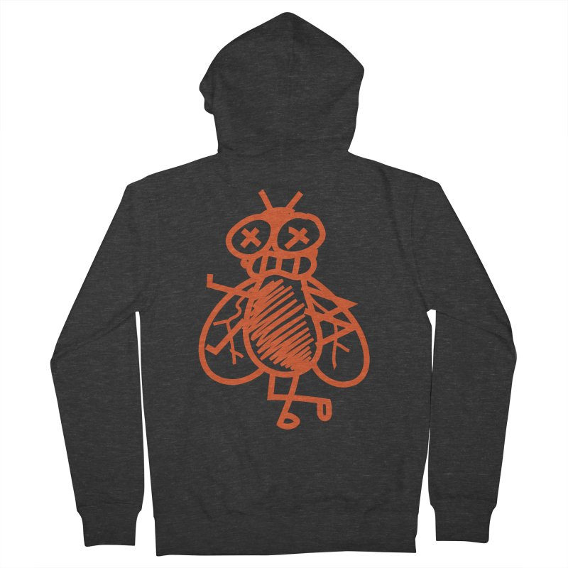 The Fly Men's French Terry Zip-Up Hoody by libedlulo