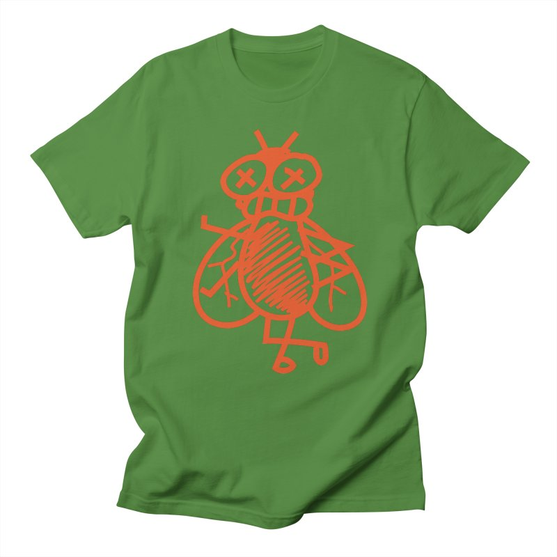 The Fly Men's Regular T-Shirt by libedlulo