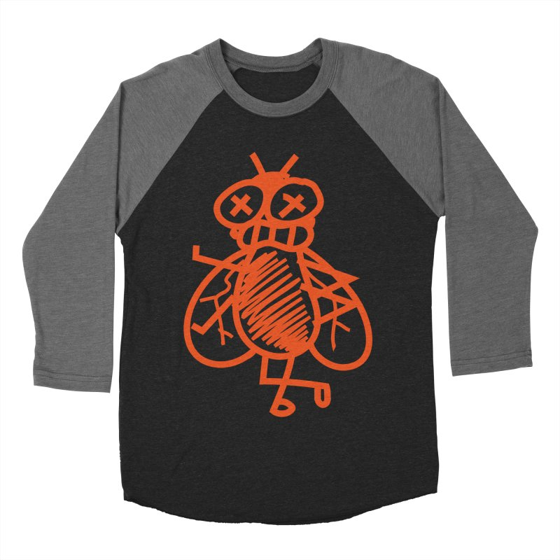 The Fly Men's Baseball Triblend Longsleeve T-Shirt by libedlulo