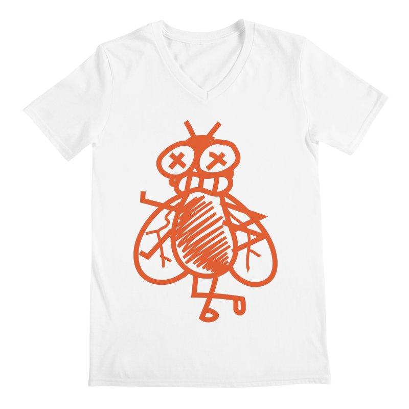 The Fly Men's V-Neck by libedlulo