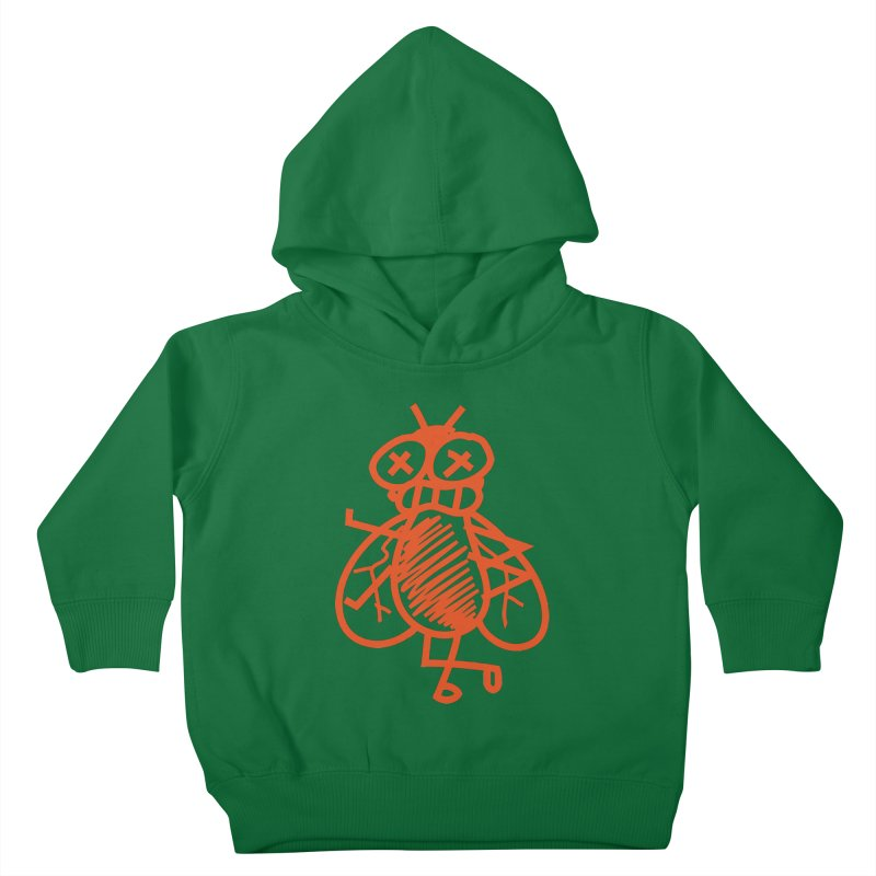 The Fly Kids Toddler Pullover Hoody by libedlulo
