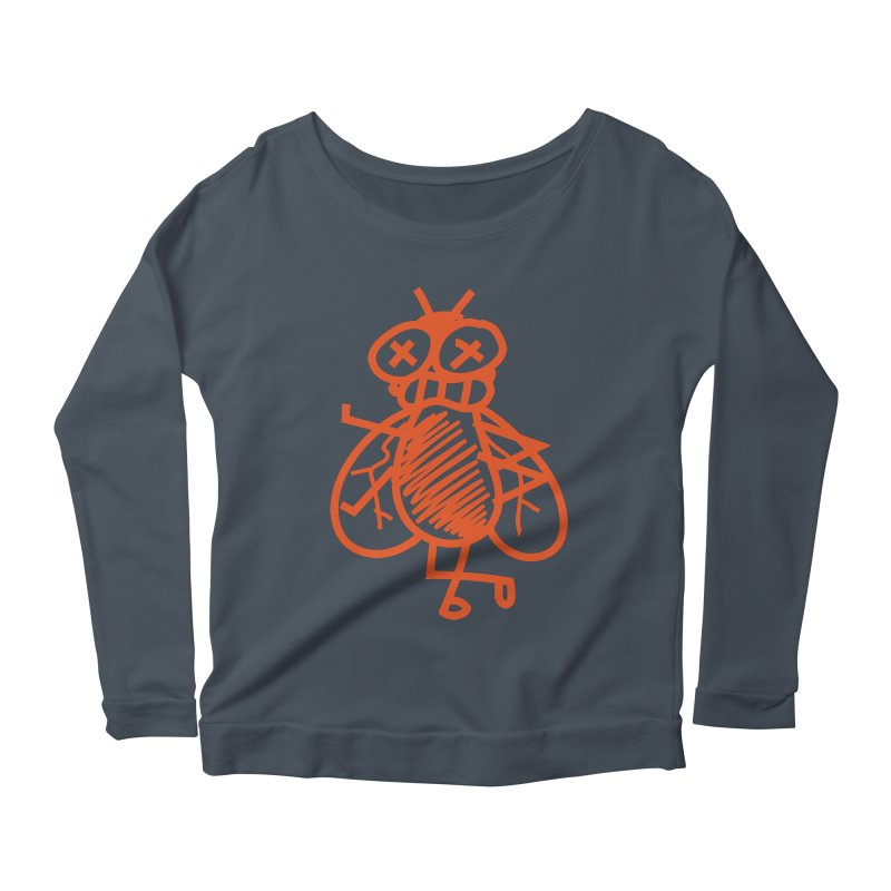 The Fly Women's Scoop Neck Longsleeve T-Shirt by libedlulo
