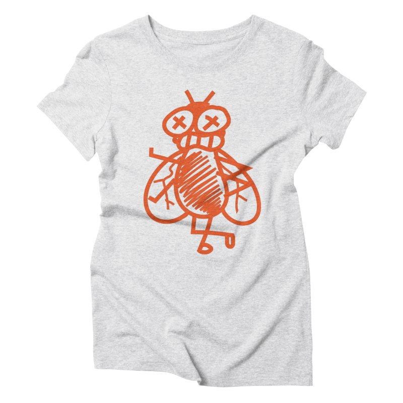 The Fly Women's T-Shirt by libedlulo