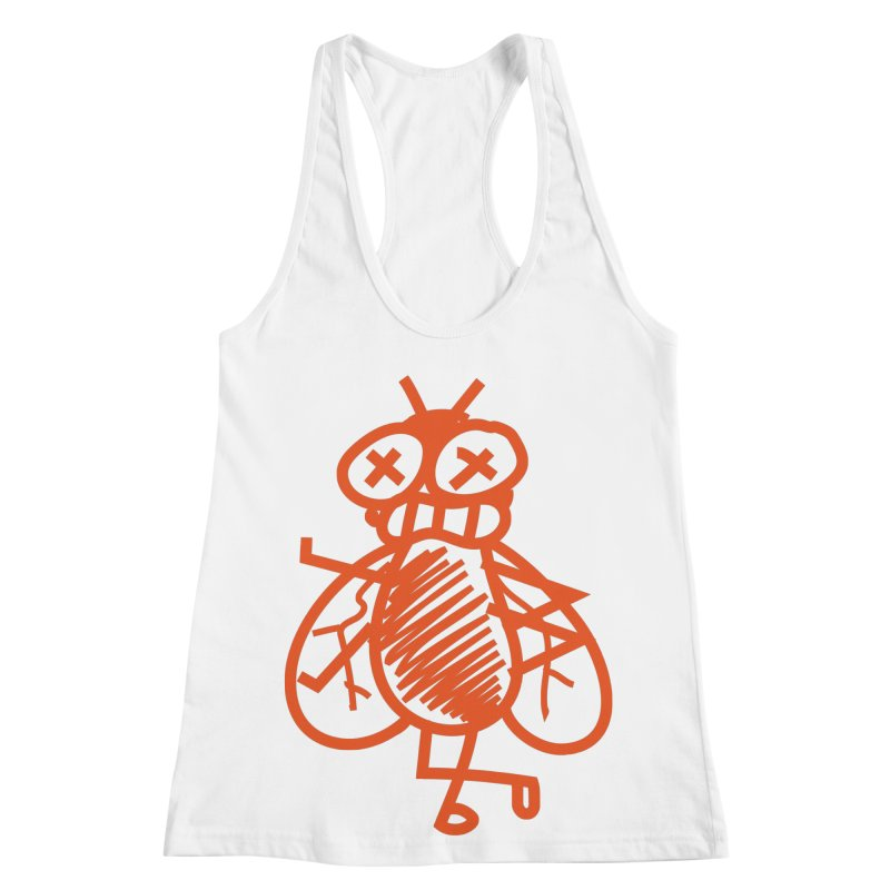 The Fly Women's Racerback Tank by libedlulo