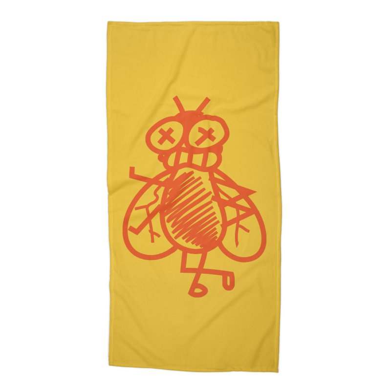 The Fly Accessories Beach Towel by libedlulo