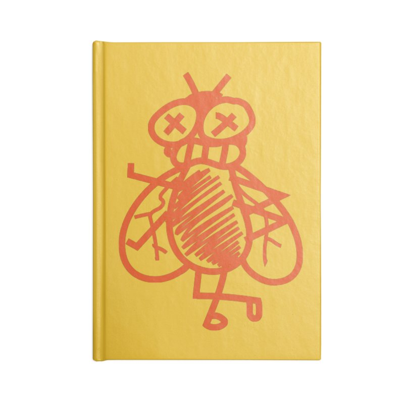 The Fly Accessories Lined Journal Notebook by libedlulo
